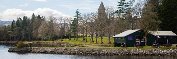 Apartments at The Highland Club, Fort Augustus Abbey, Scotland