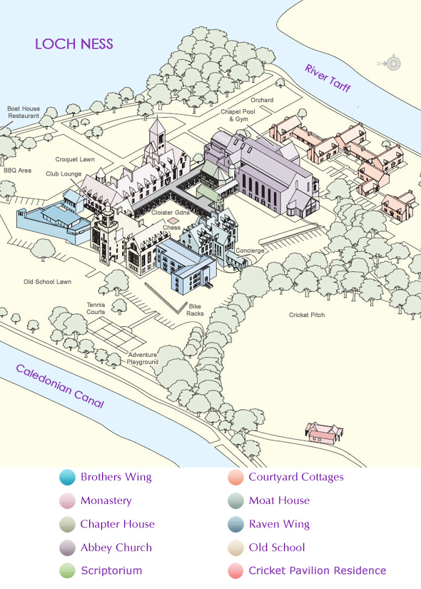 Abbey Map