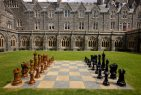 Giant Chess at the Abbey Fort Augustus