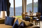 boathouse restaurant on South Loch Ness