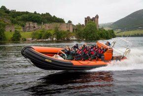 Boat trips loch Ness Scotland