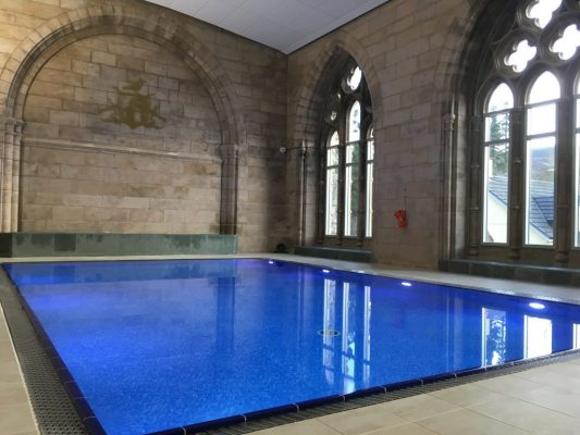 Swimming pool spa sauna steam room highland club loch ness - Luxury scottish hotels with swimming pools ...