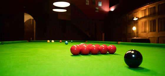 Snooker at The Highland Club